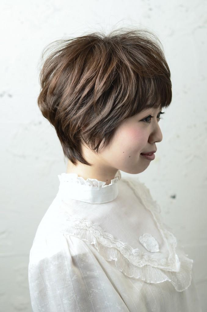 ショートスタイル☆頭の形をキレイに☆